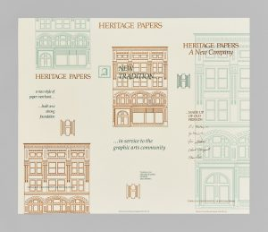 Heritage Papers, A New Company