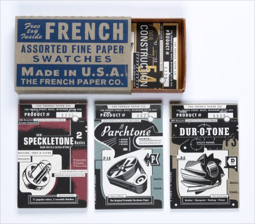 French Assorted Paper Swatchbook Set