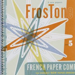 French FrosTone Paper Promotion