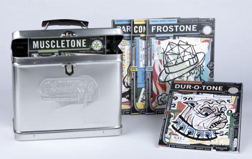 French Full Line Swatch Storage Tin