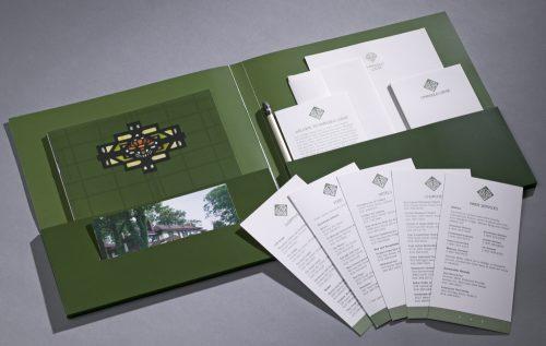 Marigold Lodge Room Folder