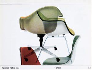 Herman Miller Chairs Catalog Brochure