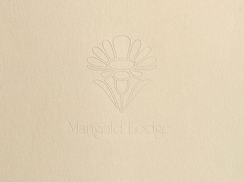 Marigold Lodge 1979 Folder and Stationery System