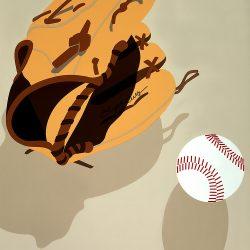 Softball Picnic Poster