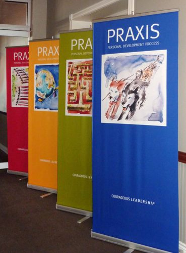 Praxis Development Process Banners