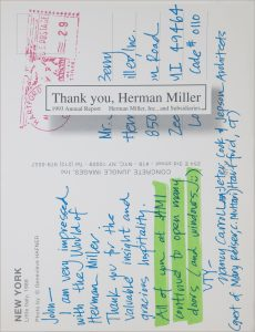 Thank You, Herman Miller