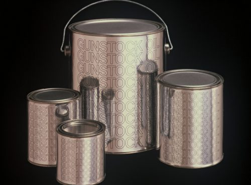 Gunstock Oil Cans