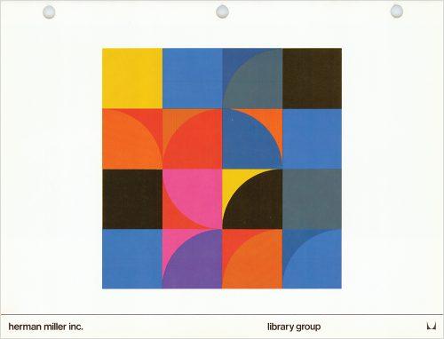 Herman Miller Library Group Catalog Brochure