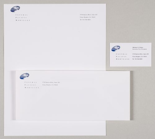 Central Pacific Mortgage Stationery System