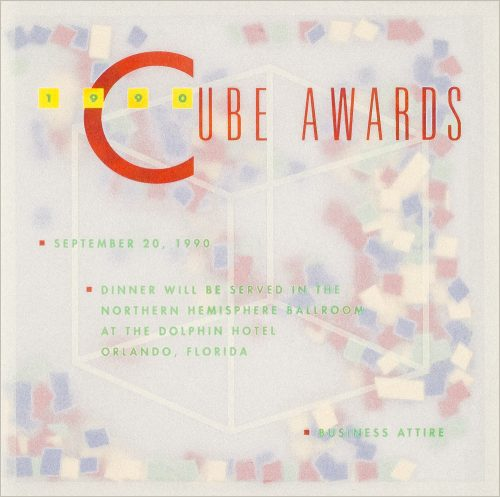 Cube Awards Announcement and Program
