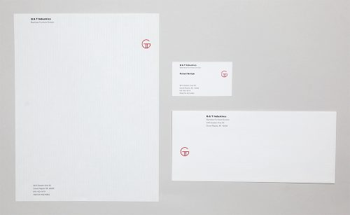 G&T Industries Logo and Stationery System