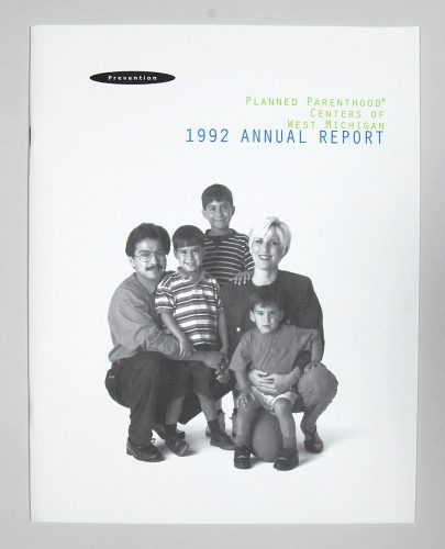 Planned Parenthood Annual Report
