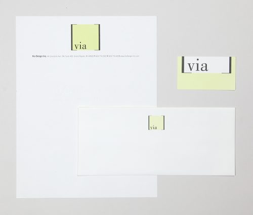 Via Design Stationery System