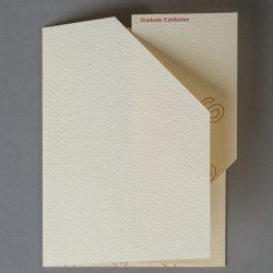 Hoogstraten/Skarritt Graduate  Exhibition Invitation