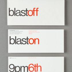 Blast Off Invitation