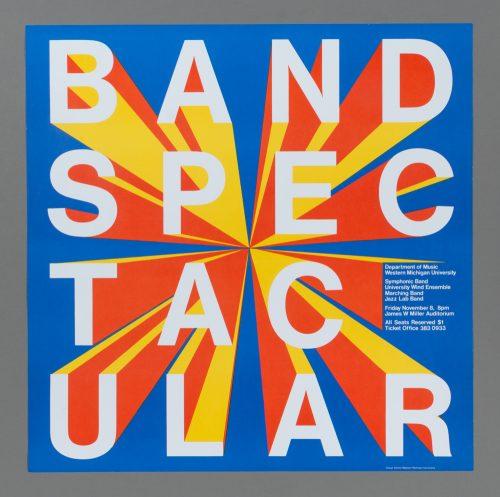 Band Spectactular Poster
