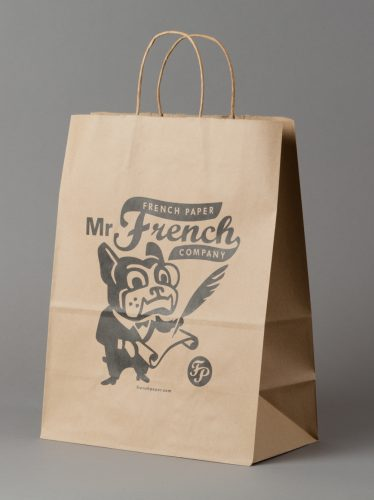 French Paper Company Shopping Bag