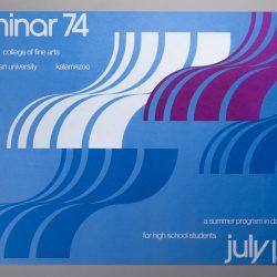 Seminar '74 Summer Dance and Music Program Announcement