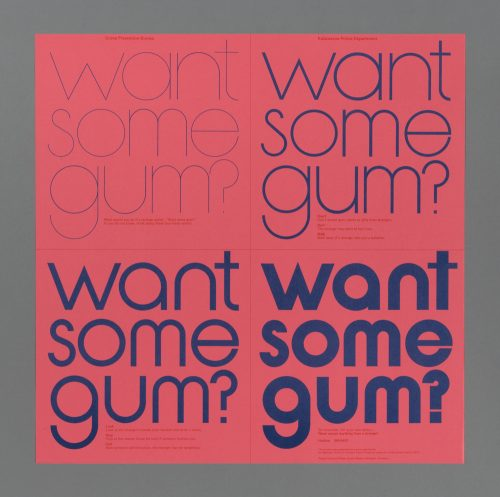 Want Some Gum? Poster