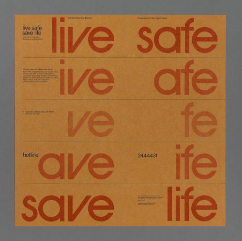 Live Save/Save Life Poster