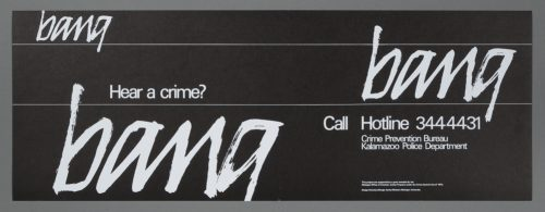 Hear a Crime? Bus Card
