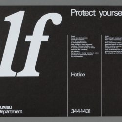 Protect Yourself Bus Card