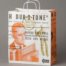 French Dur-O-Tone Works Shopping Bag