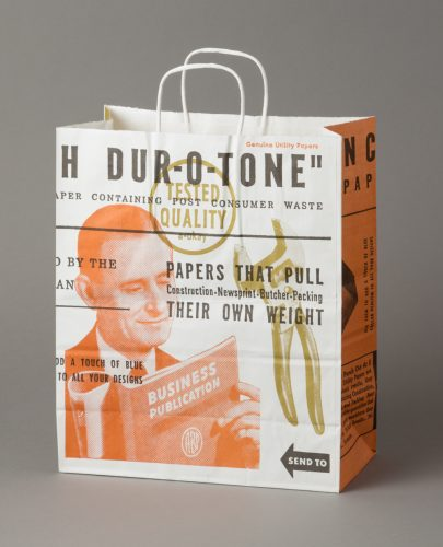 French Dur-O-Tone Works Shopping Bag