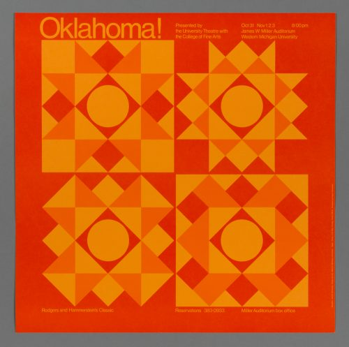 Oklahoma! Theatre Poster