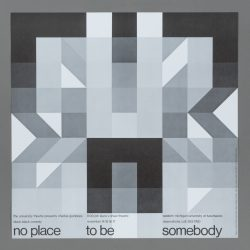 No Place To Be Somebody Theatre Poster
