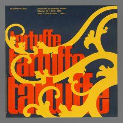 Tartuffe Theatre Poster
