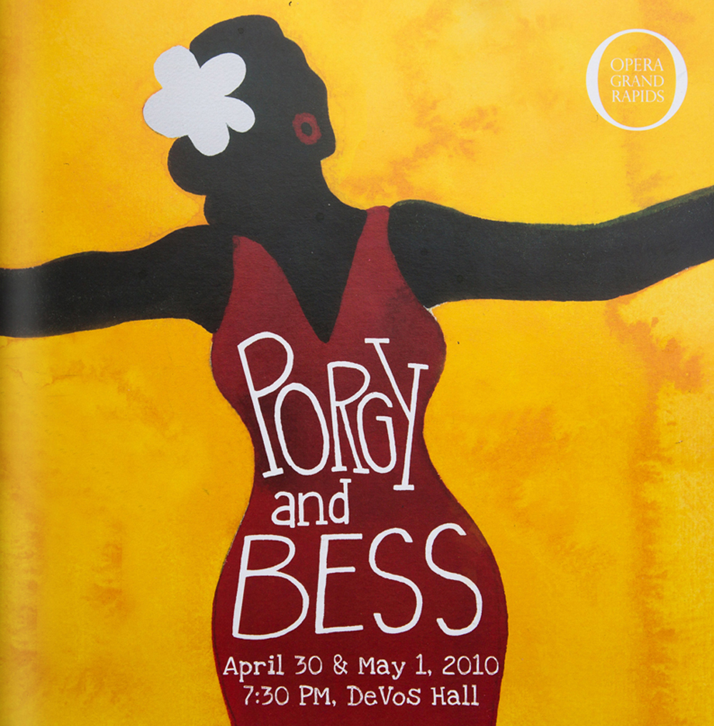 Porgy and Bess | West Michigan Graphic Design Archives