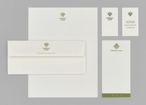 Marigold Lodge 2005 Stationery System