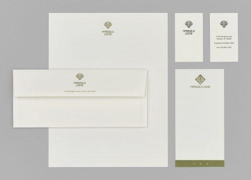 Marigold Lodge 2005 Stationery System