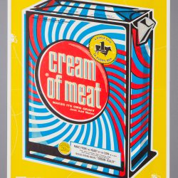 Cream Of Meat Poster