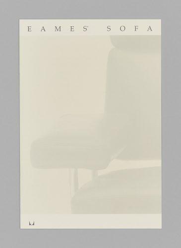 Eames Sofa Hangtag