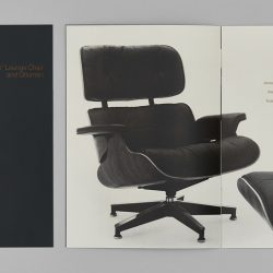 Eames Lounge Chair and Ottoman Hangtag