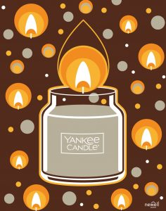 Yankee Candle Brand Poster