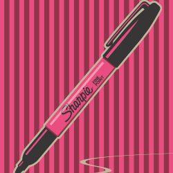Sharpie Brand Poster