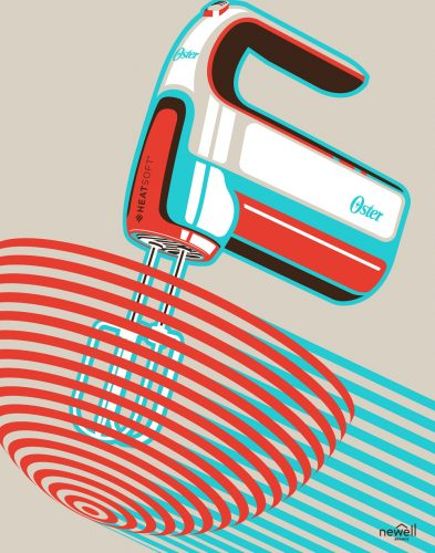 Oster Brand Poster