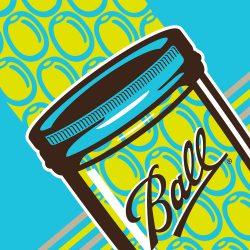 Ball Brand Poster