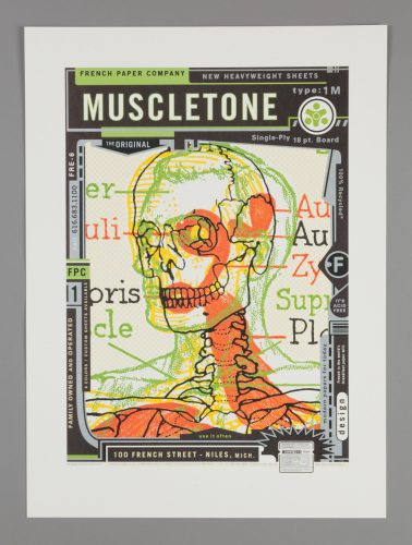 French Muscletone Poster