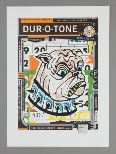 French Dur-O-Tone Poster