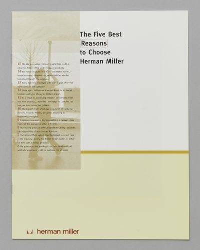 The Five Best Reasons to Choose Herman Miller