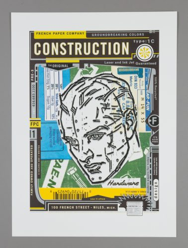 French Construction Poster