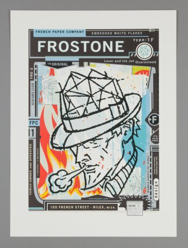 French FrosTone Poster