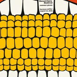 Sweet Corn Picnic Poster