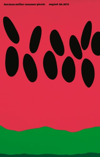 Watermelon Picnic Poster
