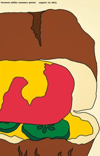 Hot Dog Picnic Poster