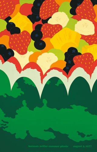 Fruit Salad Picnic Poster